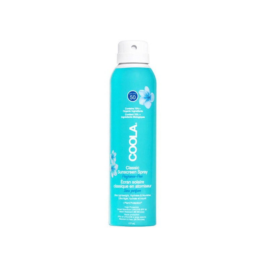 coola classic sunscreen spray unscented