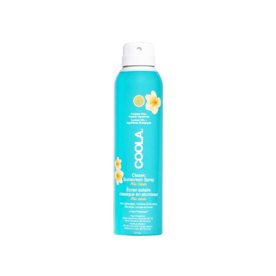 coola classic sunscreen spray pina colada