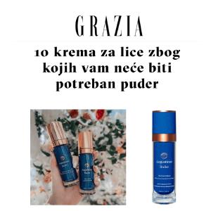 GRAZIA - 10 krema za lice