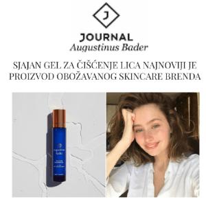 Journal - sjajan gel za čišćenje lica