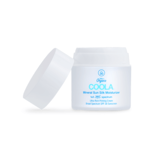 the lab coola brand mineral sun silk moisturizer